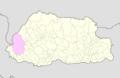 Haa Bhutan location map.png