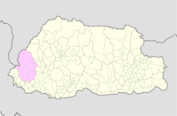 Haa Bhutan location map.png