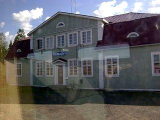 Haapajärvi Town in Northern Ostrobothnia, Finland