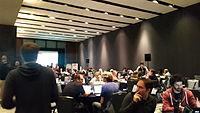 Hackathon - Wikimania 15 - 2.jpg