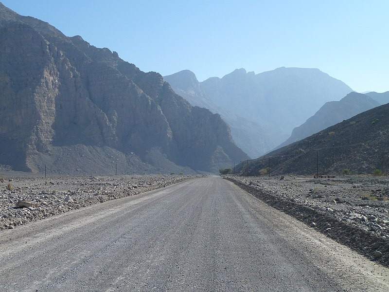 File:Hajar Mountains, Musandam, Oman - panoramio (1).jpg
