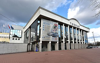 Arena COS Torwar - Image: Hala Torwar I w Warszawie 2017
