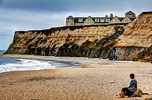 Half Moon Bay, California - Ritz-Carlton Hotel in Half Moon Bay.