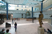 Hall with equestrian statue of Marcus Aurelius.jpg