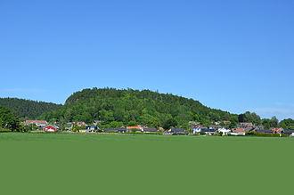 Halleberg - Halleberg from Vargön