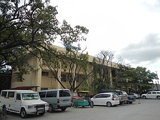 Pampanga - Façade of Halls of Justice (view from the rear of the Capitolio)