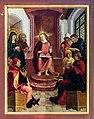 Hallstatt kath. Kirche Marienaltar 12jähriger Jesus 01.jpg