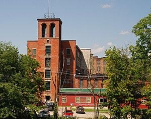 Hamilton Woolen Company Historic District - Image: Hamilton Woolen Mill Southbridge