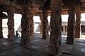 Hampi, India, Pillared hall of Sri Krishna Temple sanctum.jpg