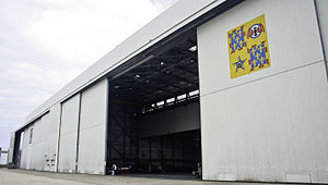 Orléans – Bricy Air Base - Hangar from 1/61 Touraine tactical transport squadron