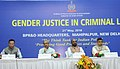 """Hansraj Gangaram Ahir at the inauguration of the Conclave on """"Gender Justice in Criminal Law"""", organised by the Bureau of Police Research and Development (BPR&D), Ministry of Home Affairs, in New Delhi.JPG"""