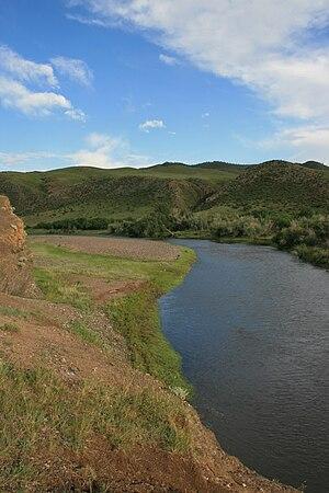 Khanui River - Image: Hanuin Gol