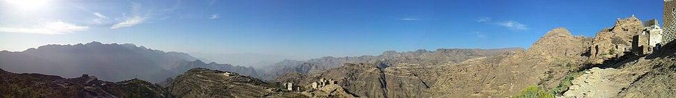 A Haraaz landscape, Yemen