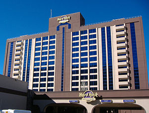 Hard Rock Hotel and Casino (Stateline) - Image: Hard Rock Hotel & Casino Lake Tahoe (2015)