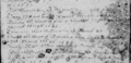 Harting Parish Register extract - 3 soldiers buried 24 November 1643.png