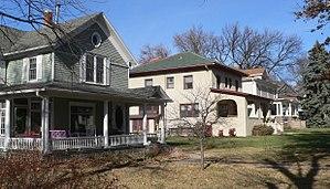 National Register of Historic Places listings in Adams County, Nebraska - Image: Hastings, Nebraska 800 odd N Lincoln Ave