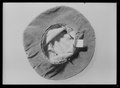 Hattöverdrag, Karl XI. Grön sammet - Livrustkammaren - 61877.tif
