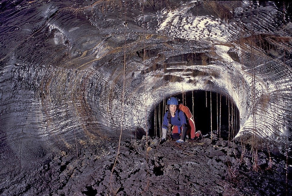 Hawaiian lava tube