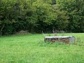 Hay rack near Pitton - geograph.org.uk - 983075.jpg