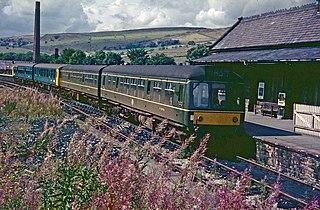 Hayfield railway station Former railway station in Derbyshire, England