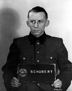 Heinz Schubert (SS officer) SS officer