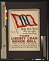 Help our town win the right to fly this flag-Third Liberty Loan honor roll LCCN00652897.jpg