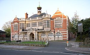 London Borough of Barnet - Hendon town hall, still used by Barnet council
