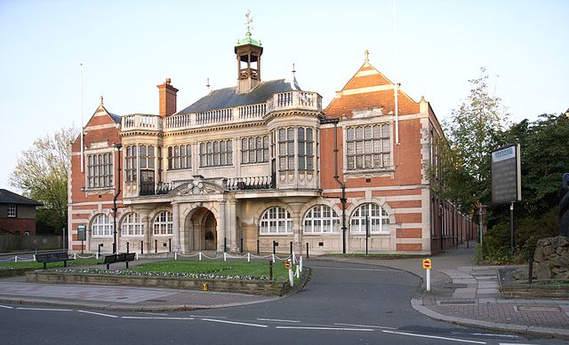 Middlesex University Hendon Campus Old Building