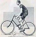 Henri Fournier, recordman du monde de l'heure à bicyclette (août 1892).jpg