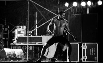 Henry Rollins - Rollins performing with the Rollins Band in 1993