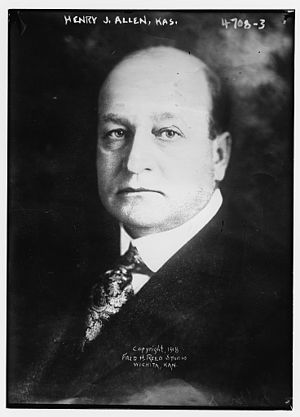 Henry Justin Allen - Image: Henry Justin Allen in 1918