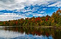 Henry Lake Fall Colors - Autumn at Ottawa National Forest, Upper Peninsula, Michigan (29936917032).jpg