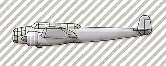 Henschel Hs 124 - Henschel Hs 124 profile