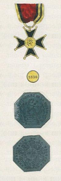 Het Belgische Ijzeren Kruis 1832