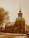 het oude kerkje aan de zee