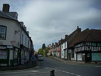Lenham - Image: High Street, Lenham