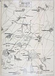 High Wood, September-October 1916