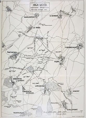 City of London Rifles - The 47th Division's attack at High Wood, 15 September 1916