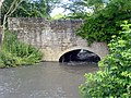 High water level under bridge in Pleasley Vale. - geograph.org.uk - 468416.jpg