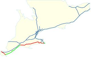 highway in Ontario