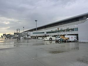 Hiroshima Airport - terminal building