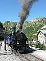 Historic railway, Historische Eisenbahnstrecke über die Furka - panoramio.jpg