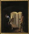 Historiebild från 1800-talet - Erik XIV fängslad på Gripsholms slott - Skoklosters slott - 56667.tif