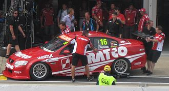 Kelly Racing - The Holden VE Commodore of David Reynolds at the 2011 Clipsal 500 Adelaide.