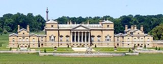 Large 18th-century Palladian country house in Norfolk, England