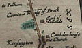 Holland House in an Ogilby map 1675.jpg