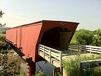 Holliwell Covered bridge 16 July 2011.jpg