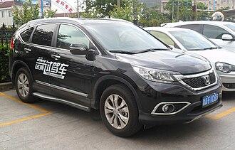 Dongfeng Motor Corporation - A Honda CR-V made by Dongfeng Honda