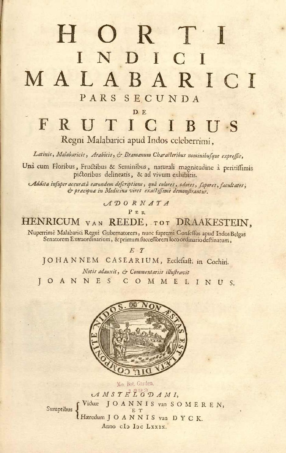 Pdf hortus malabaricus english