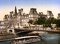 Hotel de ville, Paris, France, ca. 1890 and ca. 1900.jpg